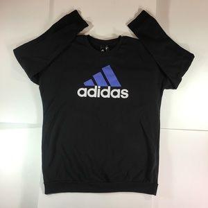 Adidas Black Pullover Sweatshirt